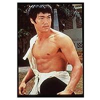 Bruce Leeポスター複数サイズジム装飾Bruce Lee写真プリントホームジムフィットネスボディービルポスター励起壁アートパネル装飾帆布絵画