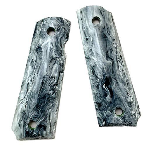 Aibote Marble Pattern Acrylic 1911 Gun Grips Custom DIY EDC Pistol Knife Handles Material Full Size...