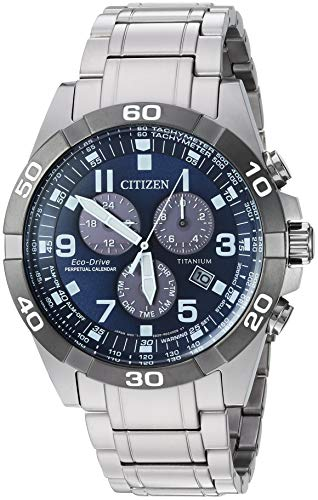 Citizen Watches Eco-Drive Titanium Strap Casual Watch for Men, BL5558-58L