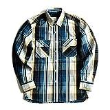 JJSPP Camisas Para Hombre Camisa De Manga Larga Camisa De Otoño Espesa Camisa A Cuadros Vintage Algodón Casual (Color : A, Size : S)