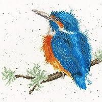 クロスステッチ刺繍キット 図柄印刷 初心者 ホームの装飾 刺繍糸 針 布 11CT Cross Stitch ホームの装飾 枝の上の鳥 40X50CM
