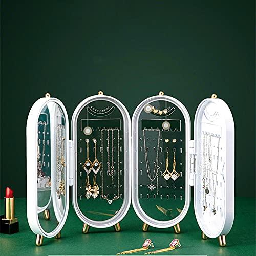 Recet Joyero, caja organizadora para collares, pendientes, soporte para joyas (caja de joyería)
