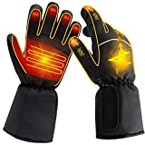 GLOBAL VASION Hand Warmer Electric Heated Gloves for Men and Women