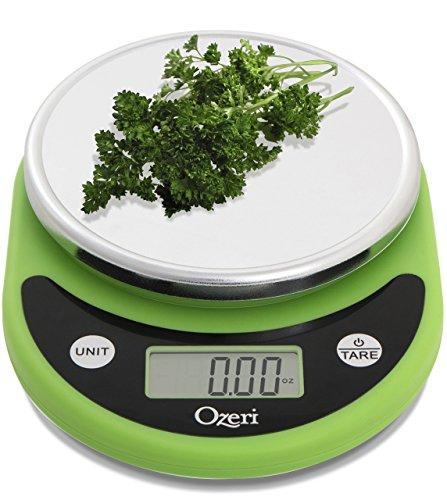 Ozeri–Bilancia digitale da cucina multifunzione Verde lima (Lime Green)