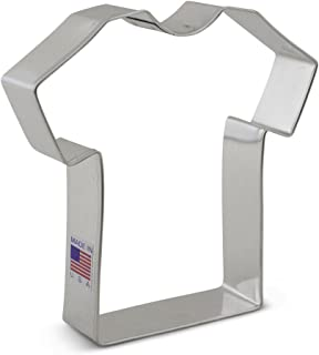 Ann Clark Cookie Cutters Large T Shirt / Sports Jersey / Medical Scrub Cookie Cutter, 4.4