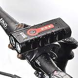 Zvivi Mountainbike Fahrrad Scheinwerfer LED Starke Lichtscheinwerfer Fahrrad Scheinwerfer Lade Nacht...
