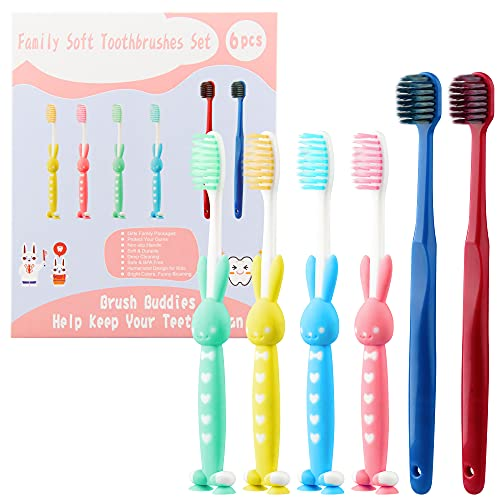 6 Pack Ebeet Soft Toothbrushes Fragile Gums Only $5.85 (Retail $12.99)