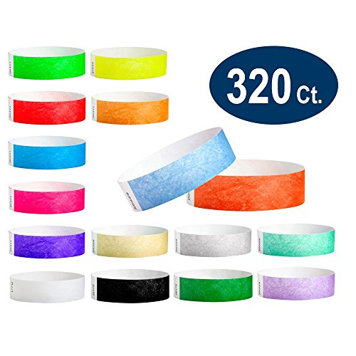 paper wristbands variety pack - 7
