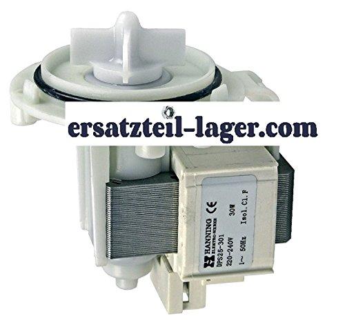Universal Ablaufpumpe Solo Laugenpumpe 30W Hanning Waschmaschine Waschtrockner