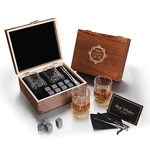 Coffret whisky - Ensemble verre et glaçons
