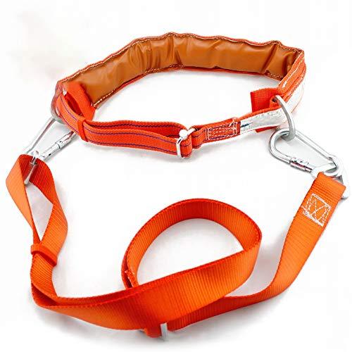 The Rope Co Cintura di assicurazione Lavoro Aereo Cintura di Sicurezza Arrampicata palo Elettricista