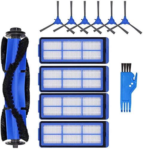 NICERE Piezas de repuesto para aspiradora RoboVac 11S Max, kit de accesorios para RoboVac 15C Max 30C Max Robotic Aspiradora 12 unidades