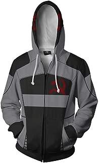 Borderlands Hoodies Cosplay Costume 3D Printed Sweatshirts Hoodie Zipper Clothing