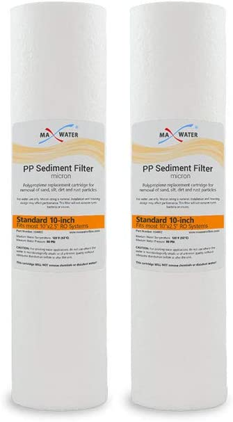 Max Water – 64% OFF 2 Atlanta Mall Pack Sediment Replacement Filter