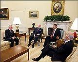 President Obama, Bill Clinton, Ted Kennedy, and Joe Biden 8x10 Silver Halide Photo Print