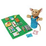Constructive Playthings If You Give a Mouse a Cookie 16 pc. Puppet Set