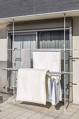 積水樹脂物干し室外物干しアルミベランダ用ものほし台スタンドポールASL-20LG