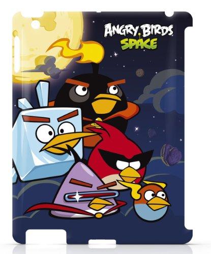 Gear4 IPAS303G Angry Birds Space Family Schutzhülle für Apple iPad 2/3 blau