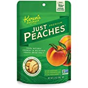 Karen's Naturals Just Tomatoes, Just Peaches 1.2 Ounce Pouch (Pack of 4) (Packaging May Vary)
