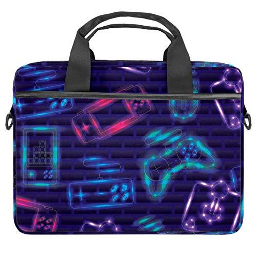Bolso bandolera para portátil de 14,5 pulgadas, con control de videojuegos, bolso de hombro para tabletas y negocios, para mujeres y hombres
