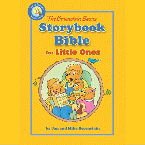 The Berenstain Bears Storybook Bible audiobook cover art