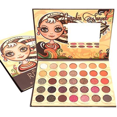 ICYCHEER Lidschatten Palette Matt Bunt, Eyeshadow Palette Creme Hochpigmentierte, 35 Farben Paletten...