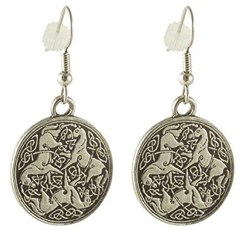 Celtic Horse or Epona Earrings