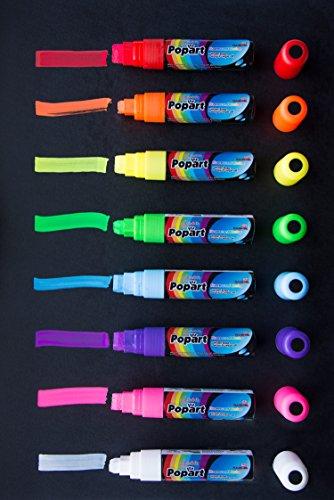 Dry Erase Extra Large Tip Marker Fluorescent 15mm