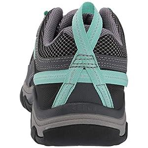 KEEN Women's Targhee Vent Hiking Shoe, Black, 9