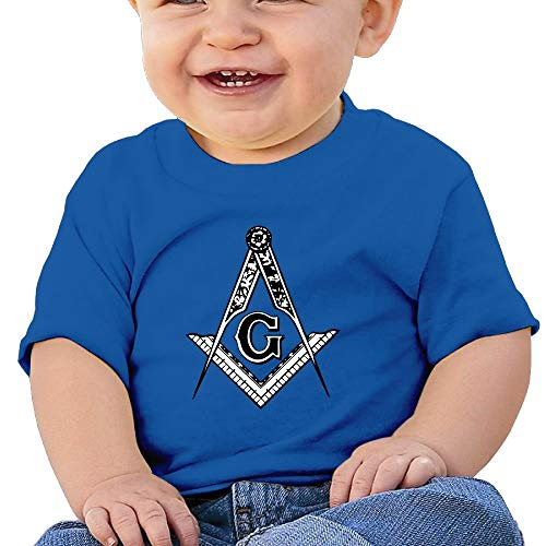 Pmguerxbfhyd Baby Girl Toddler Man Freemason Short Sleeves T Shirt