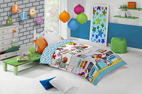 Funda nórdica infantil Manterol Decora Junior 592 cama de 90