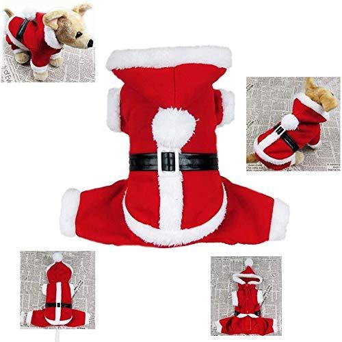 Hcxbb-11 Kerst Kostuum - Fancy Jurk Hond Kerstmis Vier Benen Panty Kerstmis Lelijke Trui Kerstmis Dress Up New Year's Wear