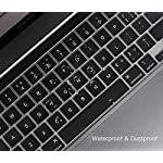 "Ultra Thin Keyboard Cover for 2020 Newest MacBook Pro 13 inch A2338 (M1) A2289 A2251 & 2020 2019 New MacBook Pro 16 inch… 12 COMPATIBILITY: The Keyboard Cover perfect fit for 2020 Newest MacBook Pro 13"" with Apple M1 Processor Model A2338 (M1) A2289 A2251 with Magic Keyboard and New Macbook Pro 16 Inch 2020 2019 Release Model A2141 with Touch Bar Touch ID Keyboard Cover Skin (NOT for other models), US Keyboard Layout. HIGH-GRADE TPU MATERIAL: Made with premium engineering grade TPU material, soft and flexible, healthy and environment friendly. ULTRATHIN & SLIM: Ultra thin 0.13mm thickness to minimize typing interference, high transparency film allows backlight keyboard to shine through."