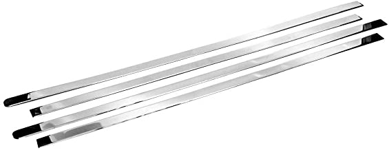 TX Racing Shipping from USA Stainless Steel Polished Chrome Window Sills for 2003-2017 Ford Expedition