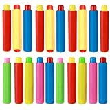 20 Piezas Soportes de Tiza de Plástico, Clip de Tiza Ajustable Colorido, Porta Tizas para Niños, Profesores, Hogar, Oficina y Escuela (Colores Aleatorios)