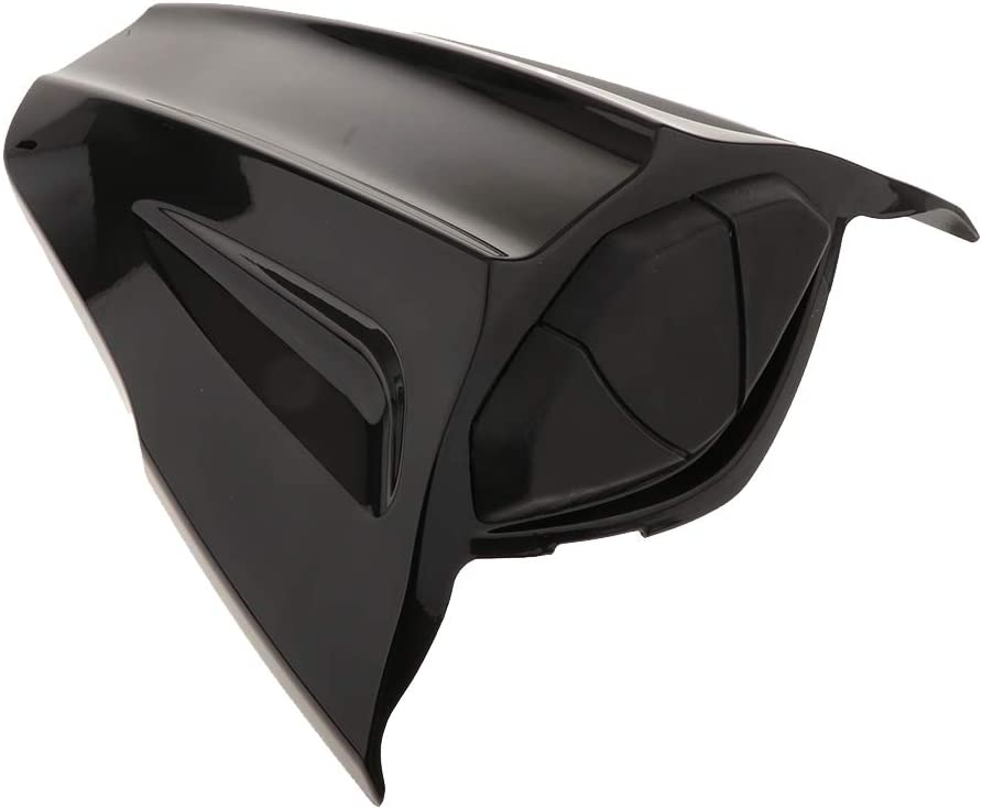 OFFicial Kesoto Rear Seat Covers Black Hood 67% OFF of fixed price ABS fo Single with Visor