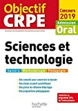 Objectif CRPE Sciences et technologie 2019