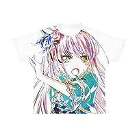 BanG Dream! ガールズバンドパーティ! 湊友希那 Roselia Ani-Art フルグラフィックTシャツ ユニセックス Lサイズ