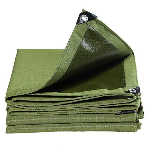 Plane Grüne Plane im Freien mit Geklebten Ösen, Windresistente wasserdichte Abdeckung Plane, für Marktstände Truck Home Garden (Size : 1.5×2m)