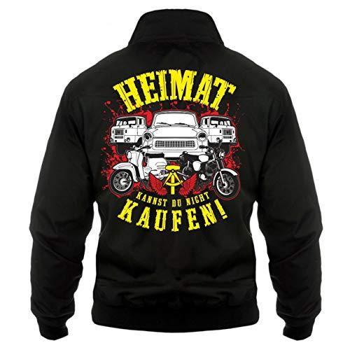 Spaß kostet Männer und Herren Harrington Jacke Ostdeutschland Heimat kann Man Nicht kaufen (mit Rückendruck) Größe S - 5XL