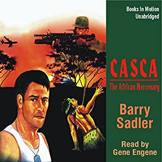 Casca the African Mercenary: Casca Series #12 audiobook cover art