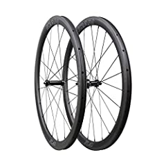 Light weight aerodynamic 700C road bike carbon wheels 40mm depth 25mm rim width Novatec AS511SB/FS522SB straight pull hub, high quality Japanese sealed EZO bearings Sapim CX-Ray spoke combines excellent aerodynamics with low weight and great strength...