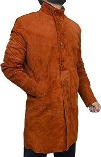 The Jasperz Longmire-Sheriff Walt Robert Taylor Suede Leather Coat, XXS-3XL