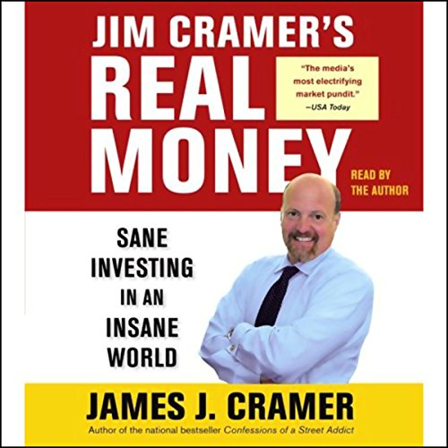 Jim Cramer's Real Money audiobook cover art