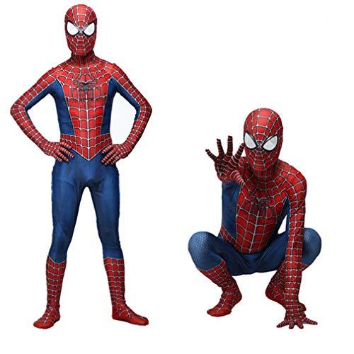 VARY Disfraz de superhroe de Marvel Unisex para Adultos y nios, Zentai 3D Impreso Super Heroes Disfraces de Halloween,Adult,XXL