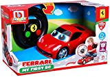 Bburago Maisto France - 91003 - Véhicule radiocommandé - Ma 1ere voiture radiocommandée pour Bébé - Ferrari 458 Italia