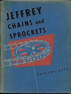 Jeffrey Chains and Sprockets Catalog A418