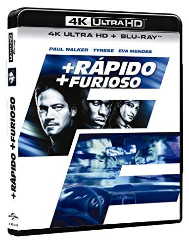 Más Rápido, Más Furioso 4K [Blu-ray]