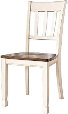Farmhouse Painted Dining Chairs Set of 2