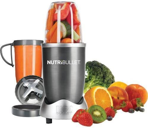 new arrival NutriBullet high quality 8-Piece High-Speed high quality Blender/Mixer System Gray outlet sale